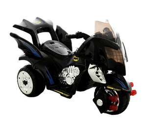 Batman 6V Battery Operated Trike now £74.99 w/code C+C @ Argos (£110 - £50 elsewhere) also