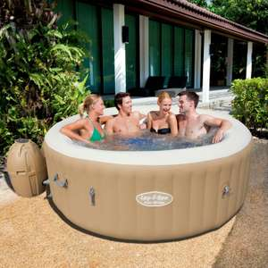 Lay-Z-Spa 'Palm Springs' Inflatable Hot Tub (includes 2x Hot Tub Drinks Holders)£399.99 online only @ GoOutdoors