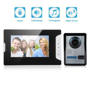 "Video Doorbell/Intercom with 7"" Screen (EU Warehouse) £19.83  GearBest"