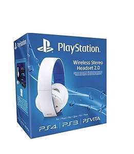 Amazon Sony PlayStation Wireless Stereo Headset 2.0 - White (PS4/PS3/PS Vita) £45 Amazon