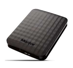 Maxtor M3 2 TB USB 3.0 Slimline Portable Hard Drive - Black @ Amazon - £61.97