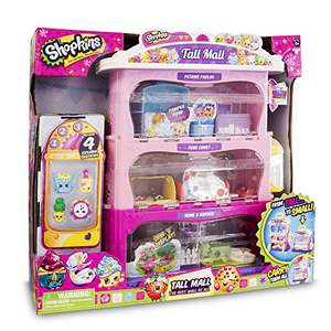 Shopkins Tall Mall Playset - £28 @ Amazon