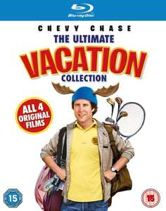 The Ultimate Vacation Blu Ray Collection £6.99  (Prime) / £8.98 (non Prime) at Amazon