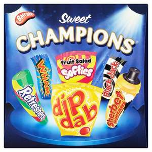 Barratt  Sweet Champions 750g box £2 @ WH Smith instore