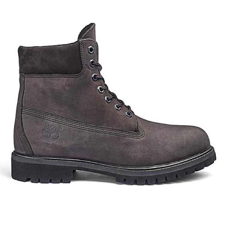 "Timberland Grey 6"" Premium Boots"