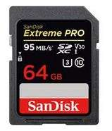 SanDisk SD Card 64GB Extreme PRO 95MB/s V30 (SDXC) £27.99 delivered using code @ MyMemory