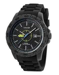 TW Steel Men's Valentino Rossi Black Strap Watch. A steal @£39.99