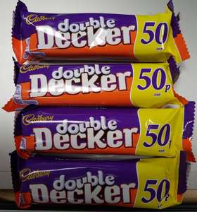 4 x 54.5g Double Decker bars only £1 @ Heron