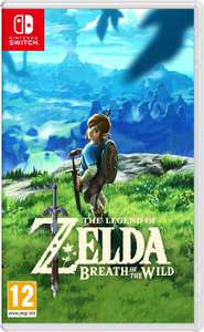 The Legend of Zelda: Breath of the Wild for £38.00 via Amazon Prime Now (Use code TENNOW for first time orders only)