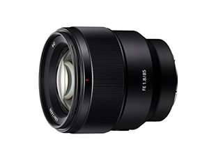 Sony SEL85F18 E Mount Full Frame 85 mm F1.8 lens £439.20 @ Amazon