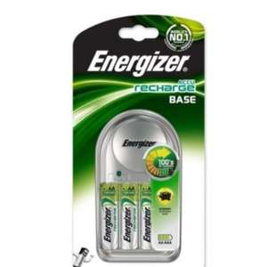 Energizer charger + 4 AA Batteries - £7.99 delivered @ picstop