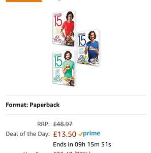 Lean in 15 collection, all books for £13.50 at Amazon (£15.49 non Prime)