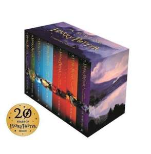 Harry potter box set. The complete collection books 1-7 @ amazon for £23.99 Prime (£25.98 non Prime)