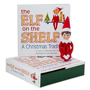 elf on the shelf blue eyed boy £14.99 at Amazon (Prime or £17.98 non Prime)