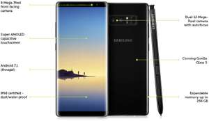 Galaxy Note 8 at mobilephonesdirect for £41pm on 24m contract - 8GB data, unlimited minutes/texts - £984