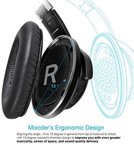 Headphones - lightning deal dropped in price at Amazon for £28.99 Sold by HKAD (VAT Registered) and Fulfilled by Amazon