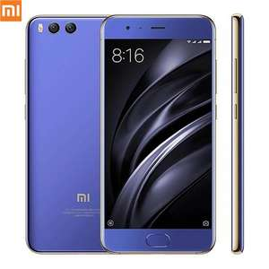 BLUE Colour -  Xiaomi Mi6 Mi 6 4GB RAM 64GB ROM for £265.75 with code (faster than Samsung Galaxy S8) @ GearBest