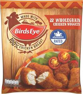 Birds Eye Chicken Nuggets - Breaded (22 per pack - 458g) £3.00 for ONE Pack however buy  3 and the price is £5.00 (or just £1.67 each pack)