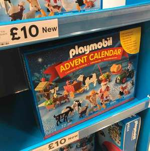 Playmobil 6624 Christmas on the Farm Advent Calendar £10 INSTORE @Tesco