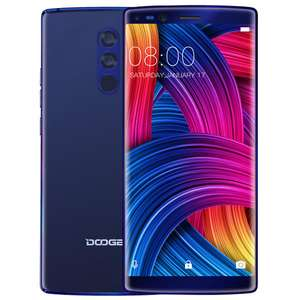 DOOGEE MIX 2 5.99 Inch Facial Recognition 6GB RAM 64GB ROM Helio P25 Octa-Core 4G Smartphone - £153.88 @ BangGood