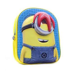 Minions 3D Backpack £5 Reduced from £15 at The Entertainer