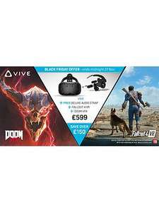 HTC Vive with Audio Strap, Doom VR & Fallout 4 - £599.99 @ Very