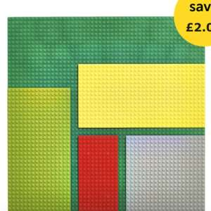 Wilko Blox Base Plate 5pk for £6 (free C&C)