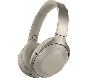 SONY MDR-1000X Wireless Bluetooth Noise-Cancelling Headphones Currys Ebay