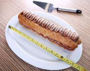 foot-long chocolate eclair is being sold at Asda £5 - Online & instore