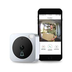 VueBell WiFi Video Doorbell Camera, with Two-Way Audio, Motion Sensor, Night Vision £71.99 Sold by Brojen smart and Fulfilled by Amazon.