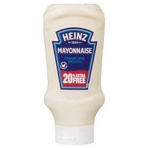 Heinz Mayonnaise 400g + 20% = £48og) ONLY £1.00 @ B&M