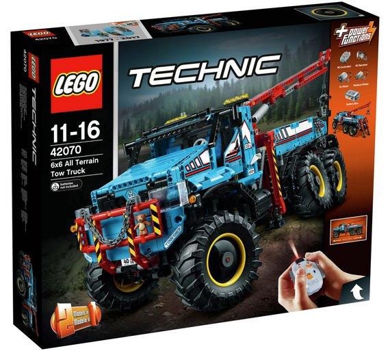 LEGO Technic 6x6 All Terrain Tow Truck - 42070 £149.99 @ Argos