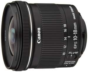 Canon EF-S 10-18 mm f/4.5-5.6 IS STM Lens £179.10 @ Amazon.co.uk