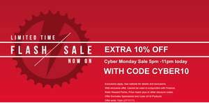 Extra 10% Off Entire JE James Cycles Website