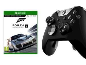 Xbox One Elite Controller with Forza 7 Game - Only £108.99 Delivered at Grainger Games