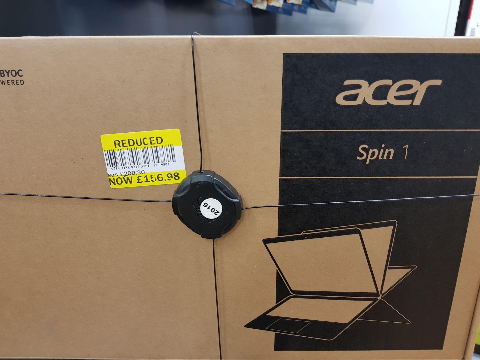 Acer Spin 1 Instore @ Tesco Alloa £156.98