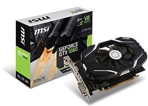 MSI GTX 1060 6G OCV1 Graphic Cards, £228.52 @Amazon Global Store