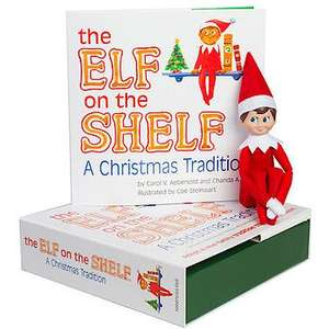 Elf on the shelf, The Entertainer £14.99