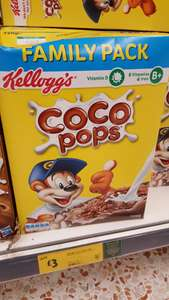 Kellogg's Coco Pops Family Pack 720g for £3 Online and instore Morrisons
