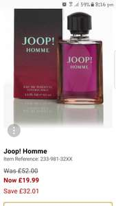 Joop! Homme 125ml EDT 19.99 and free delivery using 040 @ Studio