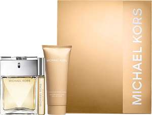 Michael Kors Women Eau de Parfum Spray 100ml Gift Set - £31.50 (with code) @ Escentual