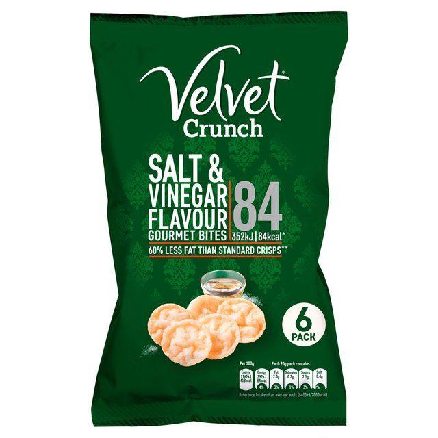 Velvet Crunch crisps x6 39p at Herons
