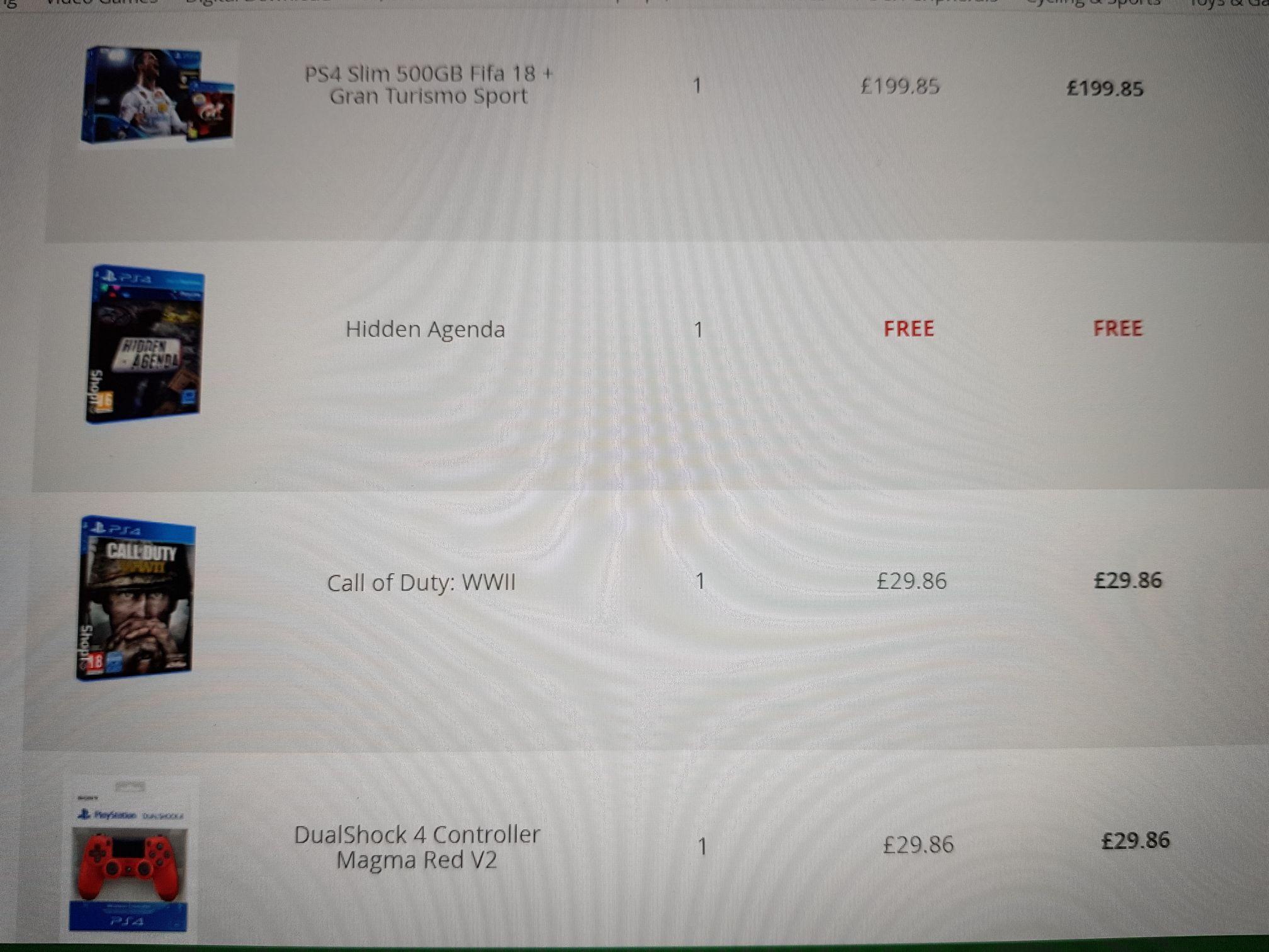 EPIC CYBER MONDAY PS4 BUNDLE - £259 @ ShopTo