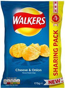 Cheese & Onion walkers share bag 175g - 59p at Herons Hull