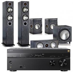 Sony STR-DN1080 AV Receiver w/ Monitor Audio Bronze B5 AV Speaker Package 5.1 £1429 @ Exceptional AV
