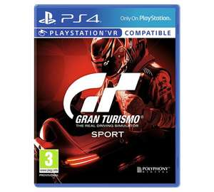 Forza 7 xbox one + gran turismo ps4 BOTH games for £38.49 using code A45PFW8K at argos