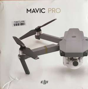 Original DJI Mavic Pro Foldable Obstacle Avoidance Drone FPV RC Quadcopter with 4K Camera OcuSync Live View System £769.23 @ TomTop