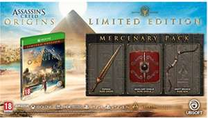 Assassin's Creed Origins Limited Edition for Xbox One £34.99 @ Amazon