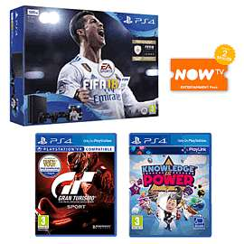 PlayStation 4 500GB Call of Duty WW2 and That's YouGran Turismo SportHidden AgendaNew PlayStation DUALSHOCK 4 Controller - BlackCrash Bandicoot N. Sane TrilogyNOW TV 1 Months Movie Pass see op for more bundles from £199.99 @ game