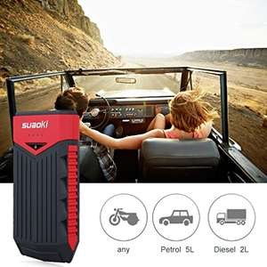 Car battery booster/jumpstarter 12000 Mah £29.99 with promo on page @ Amazon (Sold by ProMarket and Fulfilled by Amazon)